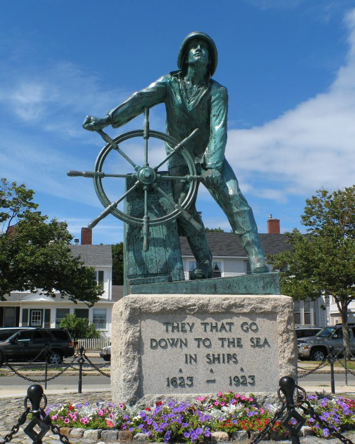 Gloucester Fisherman's Memorial in Gloucester, MA  Sculpture by Leonard F. Craske